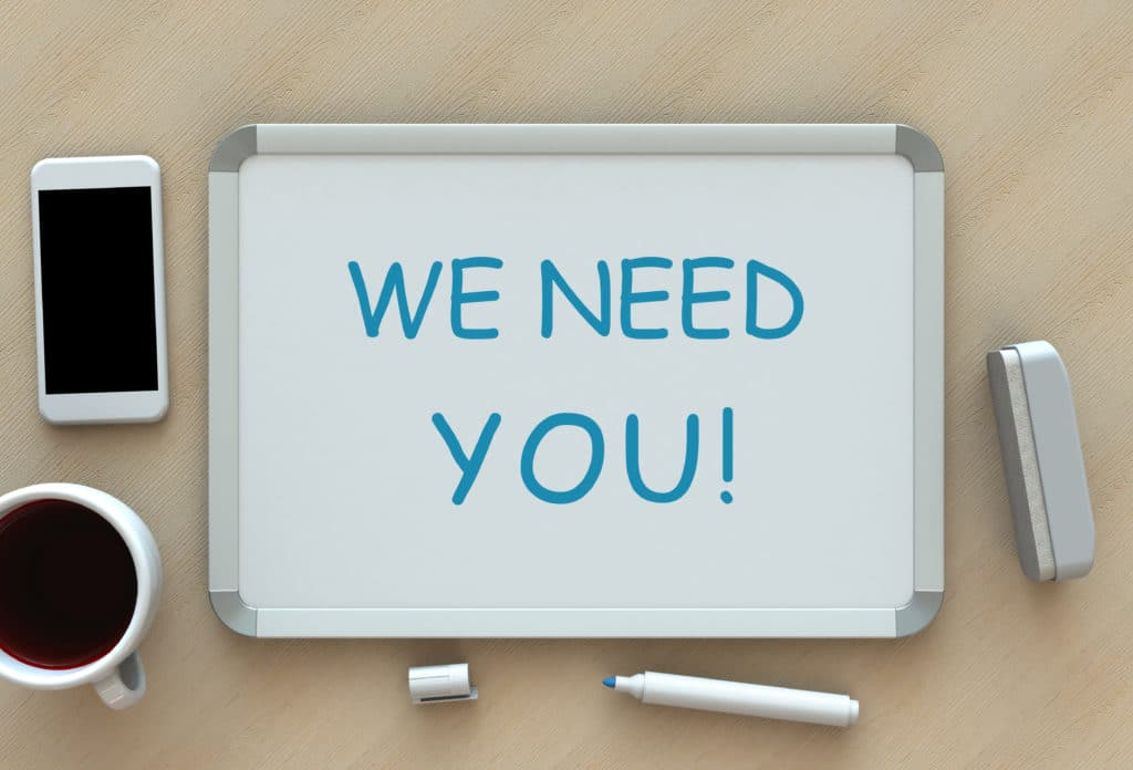we need you recrutement